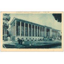 carte postale ancienne EXPOSITION COLONIALE INTERNATIONALE PARIS 1931. Musée Colonies