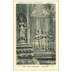 carte postale ancienne EXPOSITION COLONIALE INTERNATIONALE PARIS 1931. Temple Angkor-Vat 162