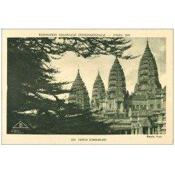 EXPOSITION COLONIALE INTERNATIONALE PARIS 1931. Temple Angkor-Vat