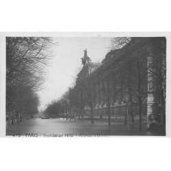INONDATION DE PARIS 1910. Avenue d'Antin. Edition Rose.