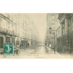 1910 INONDATION ET CRUE DE PARIS 06. Rue Jacob