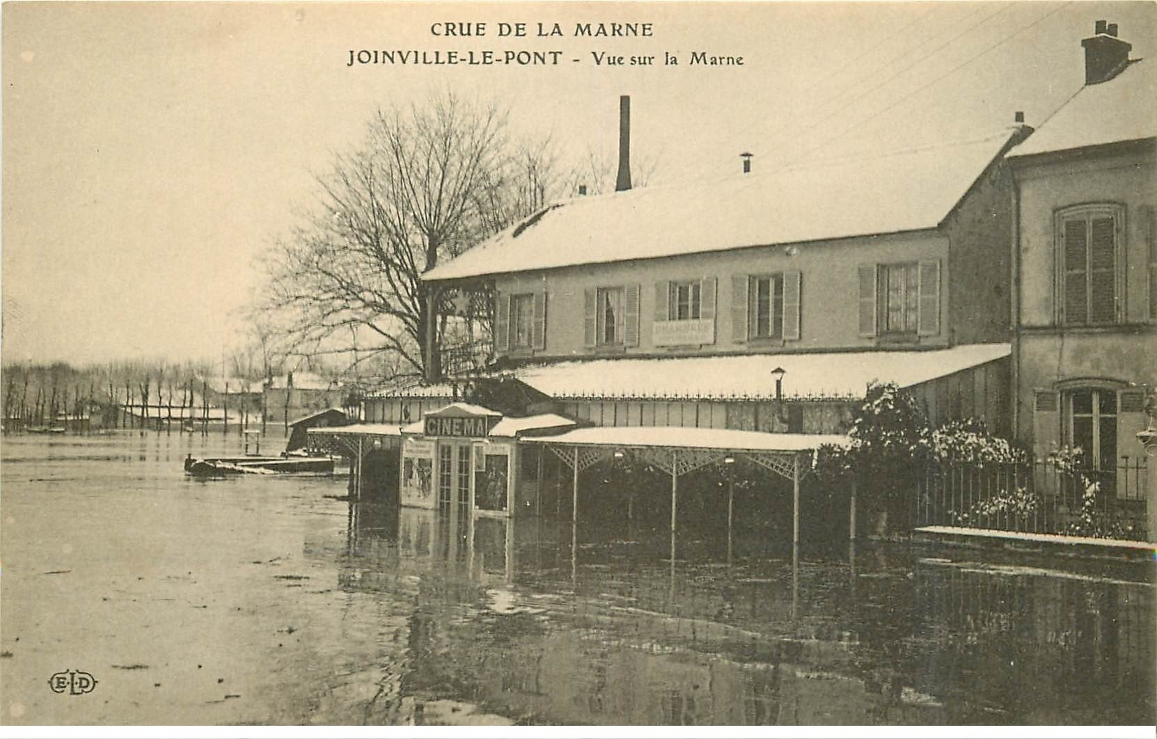 Inondation et crue de 1910 joinville le pont 94 cin ma - Salon des gourmets joinville le pont ...