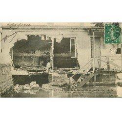 Inondations et Crue de 1910. ALFORTVILLE 94. Maison écroulée