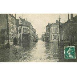Inondations et Crue de 1910. ALFORTVILLE 94. Rue des Camélias