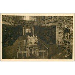 carte postale ancienne 01 BOURG. Eglise de Brou Choeur et Mausolée Philibert-le-Beau