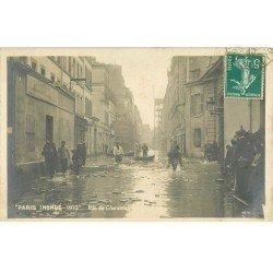 1910 Inondation et Crue de PARIS 12. Rue de Charenton