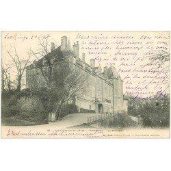 carte postale ancienne 10 VENDEUVRE. Le Château 1904