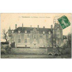 carte postale ancienne 10 VENDEUVRE. Le Château 1912