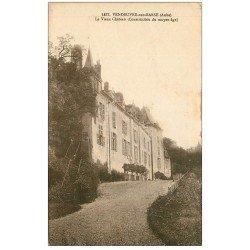 carte postale ancienne 10 VENDEUVRE. Le Château Vieux