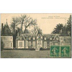 carte postale ancienne 45 AULNAY-LA-RIVIERE. Château Rocheplate 1917