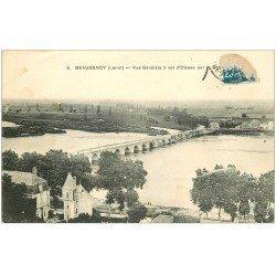 carte postale ancienne 45 BEAUGENCY. Vue générale