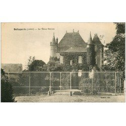 carte postale ancienne 45 BELLEGARDE. Donjon 1929