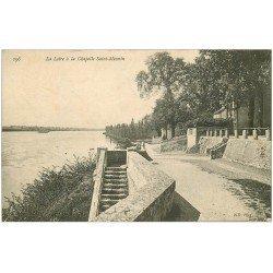 carte postale ancienne 45 CHAPELLE SAINT-MESMIN. La Loire 1906