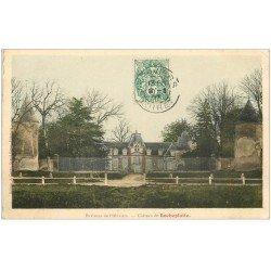 carte postale ancienne 45 CHATEAU DE ROCHEPLATTE 1907