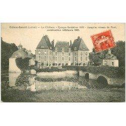 carte postale ancienne 45 CHATEAURENARD. Le Château 1927