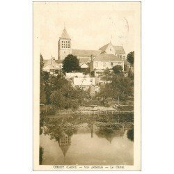 carte postale ancienne 45 CHECY. Le Canal 1949