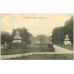 carte postale ancienne 45 CHEVILLY. Château et Parc 1910