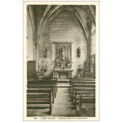 carte postale ancienne 45 CLERY. Chapelle Dunois-Longueville