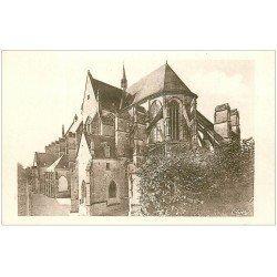 carte postale ancienne 45 CLERY. La Basilique