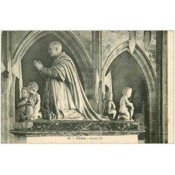 carte postale ancienne 45 CLERY. Louis XI 1908