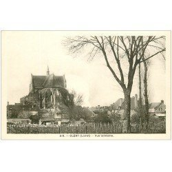 carte postale ancienne 45 CLERY. Vue
