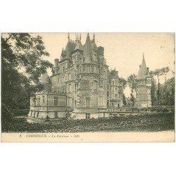 carte postale ancienne 45 COMBREUX. Le Château 1925