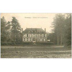 carte postale ancienne 45 COURTENAY. Château de Jacqueminière 1906