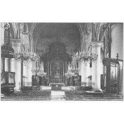 carte postale ancienne 45 COURTENAY. Eglise Saint-Pierre intérieur