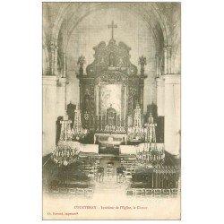 carte postale ancienne 45 COURTENAY. Eglise Saint-Pierre le Choeur 1905