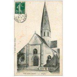 carte postale ancienne 45 FAY-AUX-LOGES. L'Eglise 1910