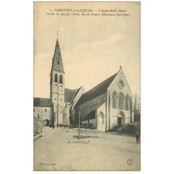 carte postale ancienne 45 FERRIERES-EN-GATINAIS. Eglise Saint-Pierre