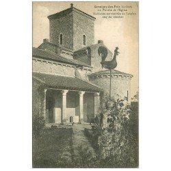 carte postale ancienne 45 GERMIGNY-DES-PRES. Porche Eglise