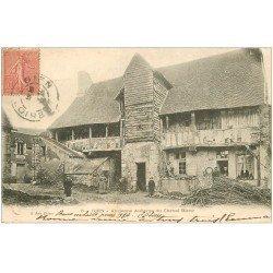 carte postale ancienne 45 GIEN. Ancienne Auberge du Cheval Blanc 1904