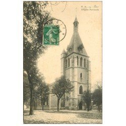 carte postale ancienne 45 GIEN. Eglise Paroissiale 1916