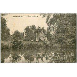 carte postale ancienne 45 JOUY-LE-POTIER. Château Villefallier 1936