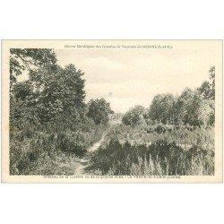 carte postale ancienne 45 LA FERTE-SAINT-AUBIN. Château de la Luzière 1933