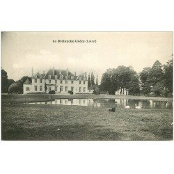 carte postale ancienne 45 LE BRETAUCHE-CHECY