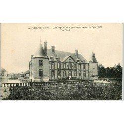 carte postale ancienne 45 LE CHARME. Champcevrais. Château de Chatres