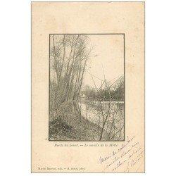 carte postale ancienne 45 LE MOULIN DE LA MOTTE 1902