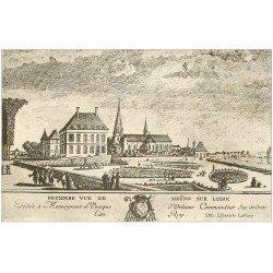 carte postale ancienne 45 MEUNG-SUR-LOIRE. Première vue d'époque