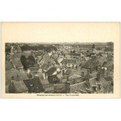 carte postale ancienne 45 MEUNG-SUR-LOIRE. Vue sur les toits