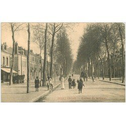 carte postale ancienne 45 MONTARGIS. Avenue de la Gare