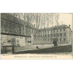 carte postale ancienne 45 MONTARGIS. Collège Garçons devenu Hôpital