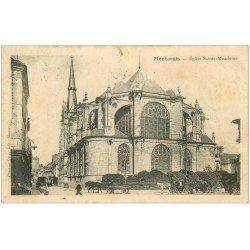 carte postale ancienne 45 MONTARGIS. Eglise Sainte-Madeleine 1903
