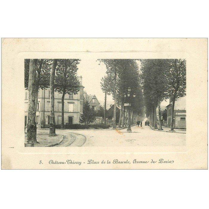 02 chateau thierry place bascule avenue de paris carte for Bureau 02 chateau thierry