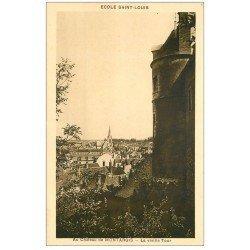 carte postale ancienne 45 MONTARGIS. La Vieille Tour 1936