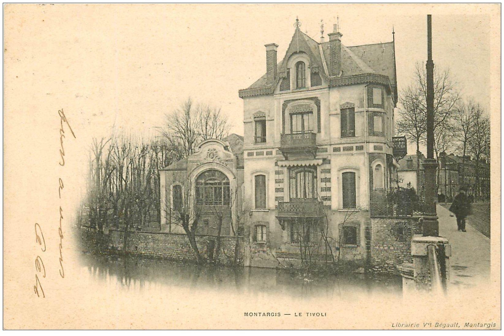 carte postale ancienne 45 MONTARGIS. Le Tivoli 1903