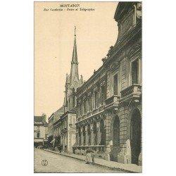 carte postale ancienne 45 MONTARGIS. Postes et Télégraphes