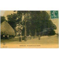 carte postale ancienne 45 NIBELLE. Rare Pouilaillier de la Guette. Carte de luxe 1911