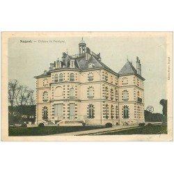 carte postale ancienne 45 NOGENT. Château de Pressigny 1904